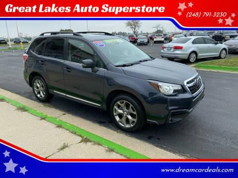 2018 Subaru Forester for sale at Great Lakes Auto Superstore in Waterford Township MI