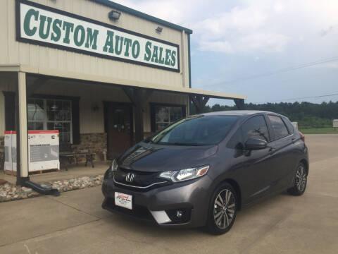 2015 Honda Fit for sale at Custom Auto Sales - AUTOS in Longview TX