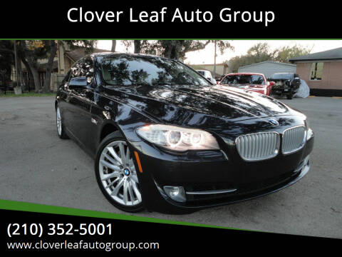2011 BMW 5 Series for sale at Clover Leaf Auto Group in San Antonio TX