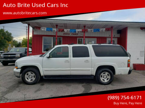 2004 Chevrolet Suburban for sale at Auto Brite Used Cars Inc in Saginaw MI