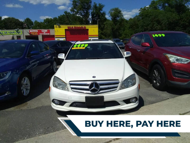 2009 Mercedes-Benz C-Class for sale at Marino's Auto Sales in Laurel DE
