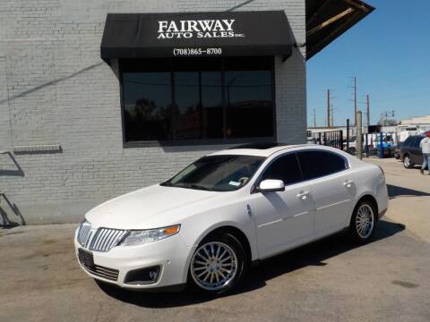 2010 Lincoln MKS for sale at FAIRWAY AUTO SALES, INC. in Melrose Park IL