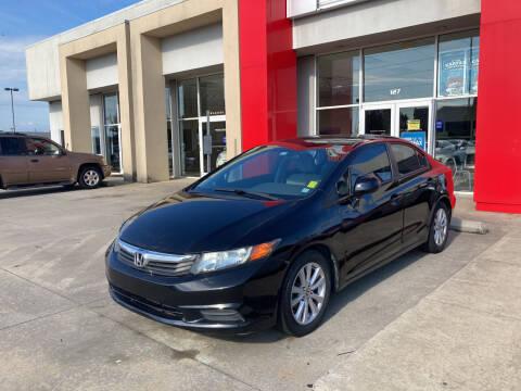 2012 Honda Civic for sale at Thumbs Up Motors in Warner Robins GA