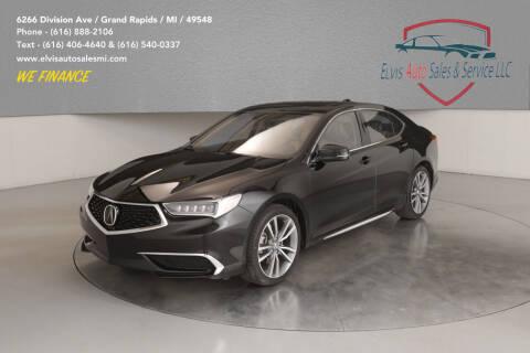 2019 Acura TLX for sale at Elvis Auto Sales LLC in Grand Rapids MI