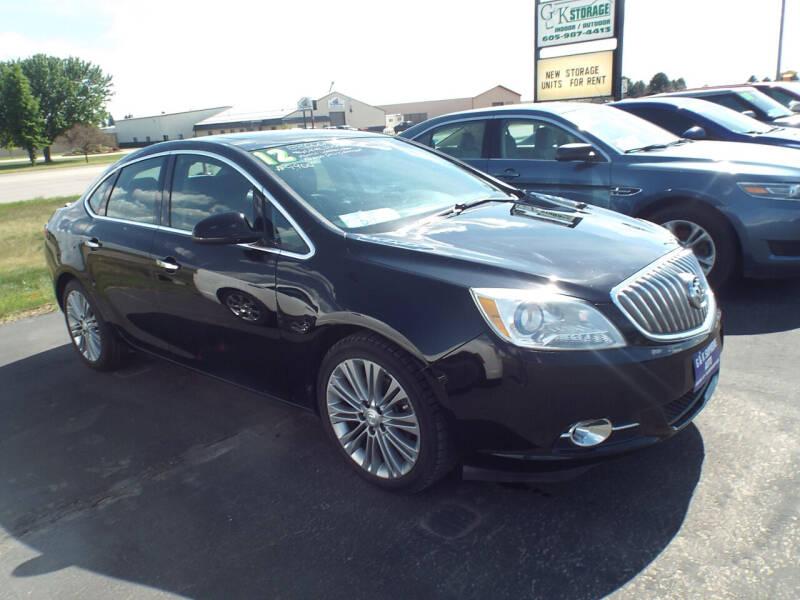2012 Buick Verano for sale at G & K Supreme in Canton SD