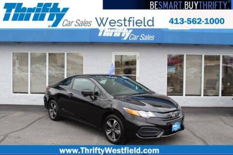 2015 Honda Civic for sale at Thrifty Car Sales Westfield in Westfield MA