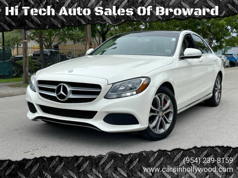 2015 Mercedes-Benz C-Class for sale at Hi Tech Auto Sales Of Broward in Hollywood FL