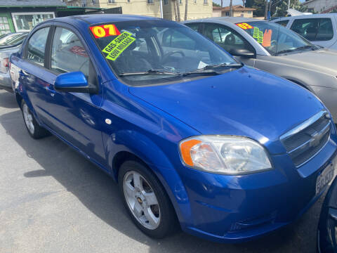 2007 Chevrolet Aveo for sale at North County Auto in Oceanside CA