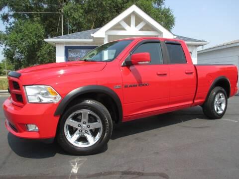 2011 RAM Ram Pickup 1500 for sale at Blue Arrow Motors in Coal City IL