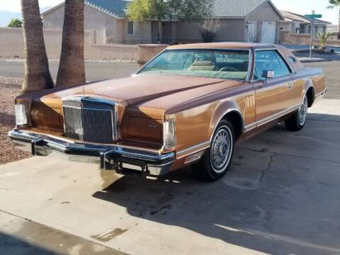 1978 Lincoln Mark V for sale at Classic Car Deals in Cadillac MI