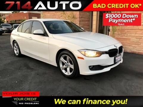 2015 BMW 3 Series for sale at 714 Auto in Orange CA