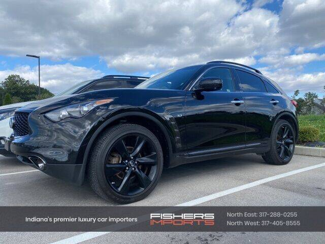 2017 Infiniti QX70 for sale at Fishers Imports in Fishers IN