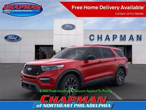 2021 Ford Explorer for sale at CHAPMAN FORD NORTHEAST PHILADELPHIA in Philadelphia PA