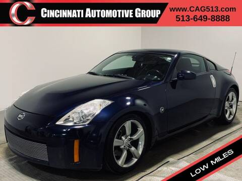 2008 Nissan 350Z for sale at Cincinnati Automotive Group in Lebanon OH