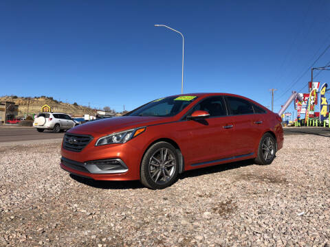 2015 Hyundai Sonata for sale at 1st Quality Motors LLC in Gallup NM