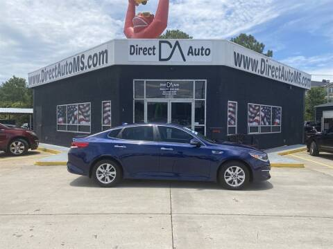 2018 Kia Optima for sale at Direct Auto in D'Iberville MS