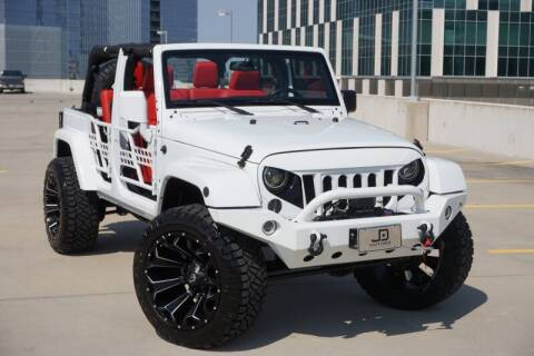 2015 Jeep Wrangler Unlimited for sale at JD MOTORS in Austin TX