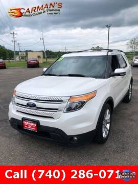 2013 Ford Explorer for sale at Carmans Used Cars & Trucks in Jackson OH