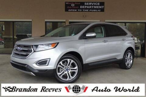 2016 Ford Edge for sale at Brandon Reeves Auto World in Monroe NC