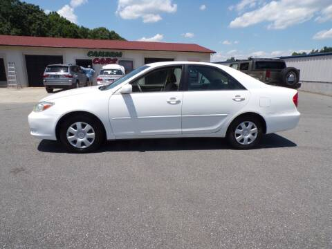 2003 Toyota Camry for sale at Cambria Cars in Mooresville NC