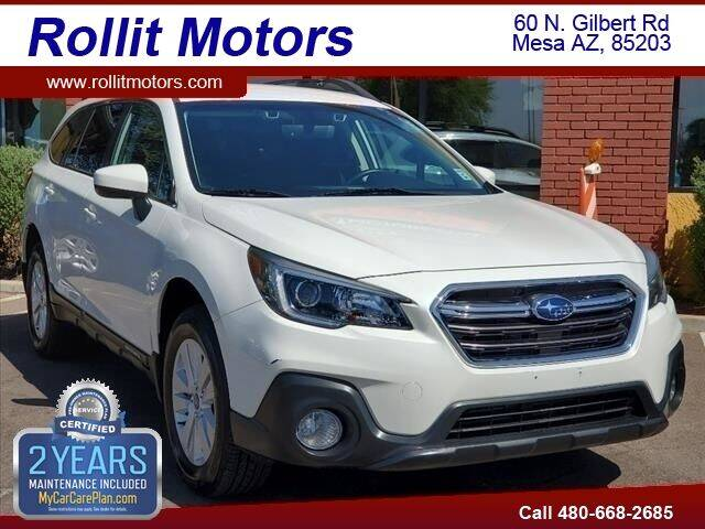 2019 Subaru Outback for sale at Rollit Motors in Mesa AZ