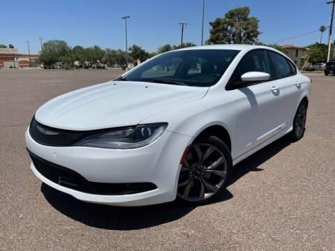 2015 Chrysler 200 for sale at DR Auto Sales in Glendale AZ