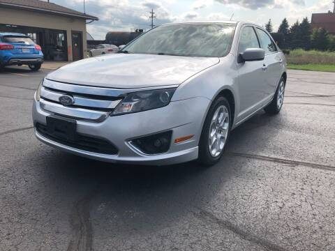 2011 Ford Fusion for sale at Mike's Budget Auto Sales in Cadillac MI