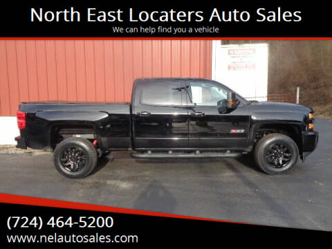 2017 Chevrolet Silverado 2500HD for sale at North East Locaters Auto Sales in Indiana PA