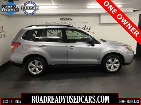 2016 Subaru Forester for sale at Road Ready Used Cars in Ansonia CT
