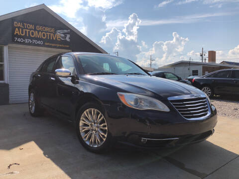 2011 Chrysler 200 for sale at Dalton George Automotive in Marietta OH