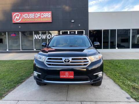 2012 Toyota Highlander for sale at HOUSE OF CARS CT in Meriden CT