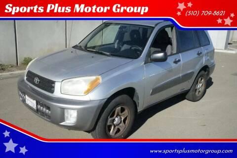 2003 Toyota RAV4 for sale at Sports Plus Motor Group LLC in Sunnyvale CA