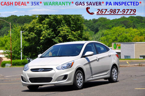 2015 Hyundai Accent for sale at T CAR CARE INC in Philadelphia PA