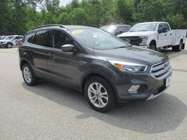 2018 Ford Escape for sale at MC FARLAND FORD in Exeter NH