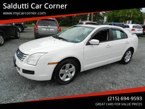 2008 Ford Fusion for sale at Saldutti Car Corner in Gilbertsville PA
