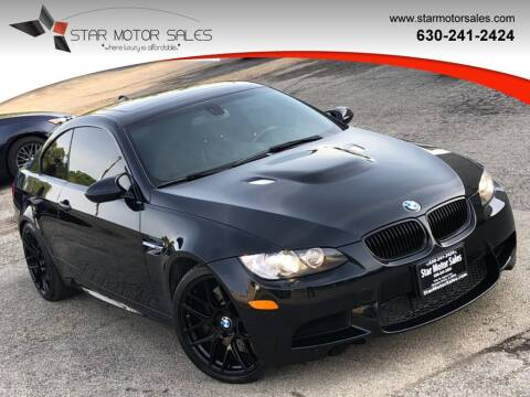 2010 BMW M3 for sale at Star Motor Sales in Downers Grove IL