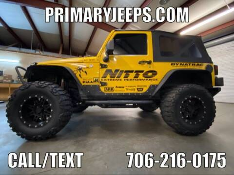 2008 Jeep Wrangler for sale at Primary Auto Group Jeeps Hummers Tacomas in Dawsonville GA