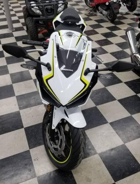 2021 Honda CBR500RAM ABS for sale at Irv Thomas Honda Suzuki Polaris in Corpus Christi TX