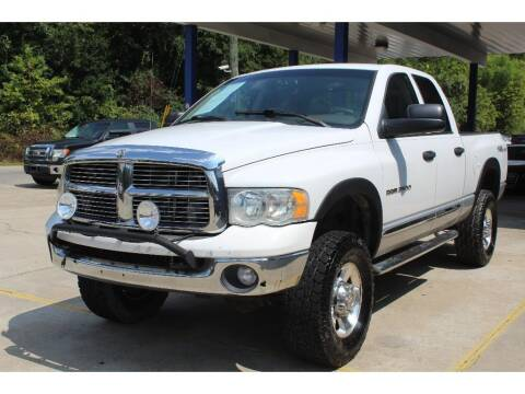 2004 Dodge Ram Pickup 2500 for sale at Inline Auto Sales in Fuquay Varina NC