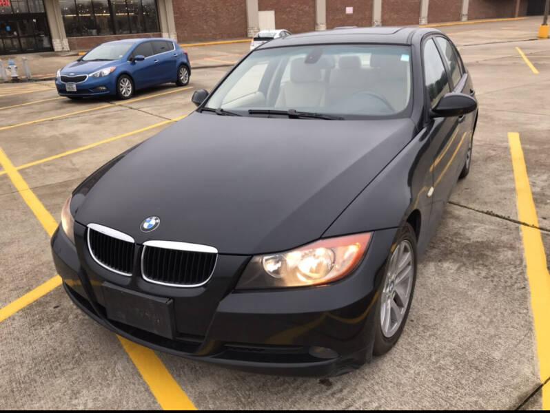 2007 BMW 3 Series for sale at BJ International Auto LLC in Dallas TX