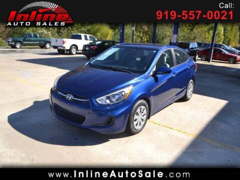 2016 Hyundai Accent for sale at Inline Auto Sales in Fuquay Varina NC