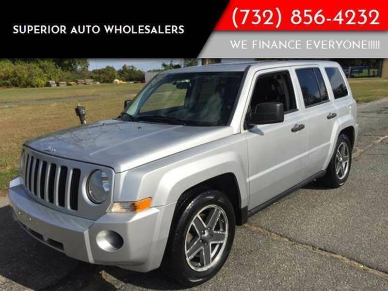 2009 Jeep Patriot for sale at Superior Auto Wholesalers in Burlington City NJ