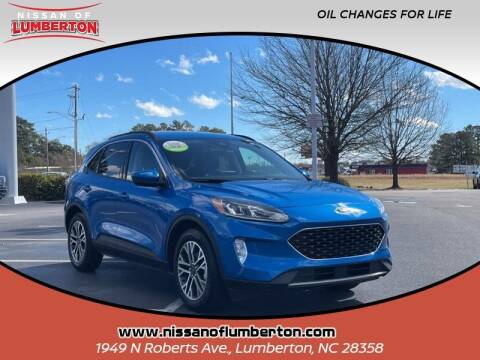 2020 Ford Escape for sale at Nissan of Lumberton in Lumberton NC