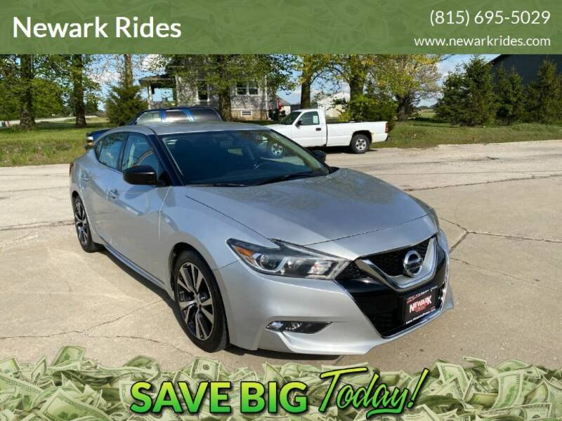 2016 Nissan Maxima for sale at Newark Rides in Newark IL