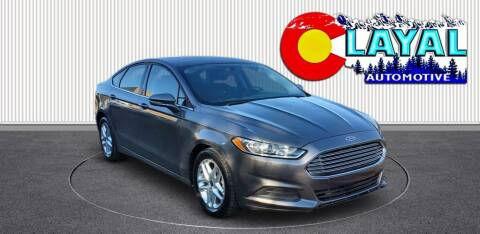 2013 Ford Fusion for sale at Layal Automotive in Englewood CO