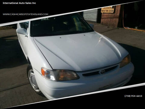 1999 Toyota Corolla for sale at International Auto Sales Inc in Staten Island NY