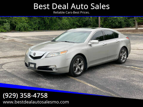2011 Acura TL for sale at Best Deal Auto Sales in Saint Charles MO