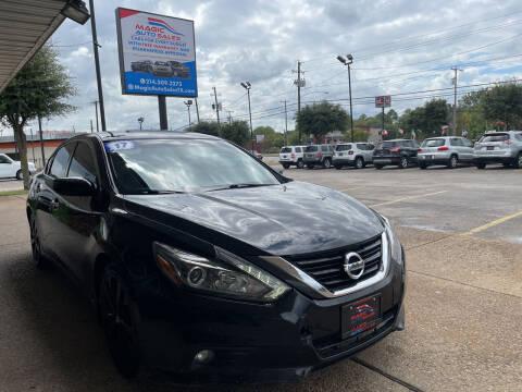 2017 Nissan Altima for sale at Magic Auto Sales in Dallas TX