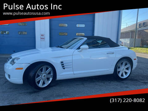 2006 Chrysler Crossfire for sale at Pulse Autos Inc in Indianapolis IN