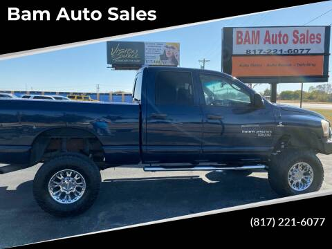 2006 Dodge Ram Pickup 2500 for sale at Bam Auto Sales in Azle TX